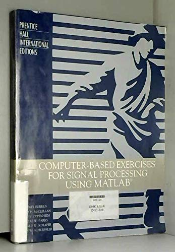 9780133648454: Computer-based exercises for signal processing using MATLAB