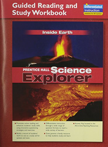 9780133649048: Science Explorer: Inside Earth: Student Edition and Guided Reading and Study Workbook (NATL)
