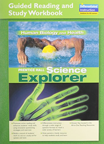 9780133649659: Science Explorer: Human Biology and Health: Student Edition and Guided Reading and Study Workbook (NATL)