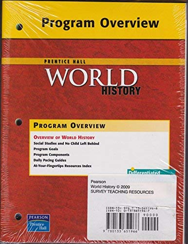 9780133651966: World History, Teaching Resources, Survey Edition.