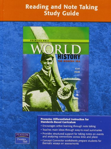 9780133651973: WORLD HISTORY READING AND NOTETAKING STUDY GUIDE MODERN 2009 (Film Focus)