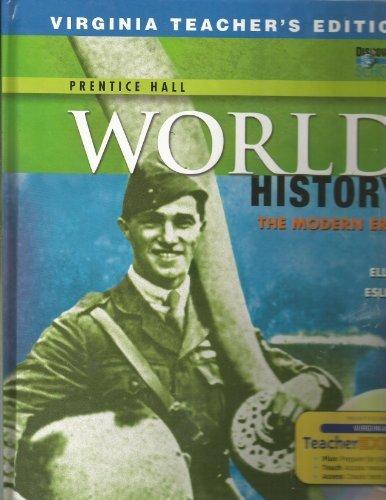 Teacher's Virginia Edition; World History: The Modern Era