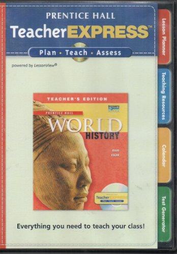 9780133652246: Prentice Hall World History Teacher Express Cd-rom
