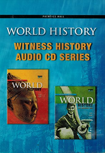 9780133652314: World History Witness History Audio CD-ROM Set