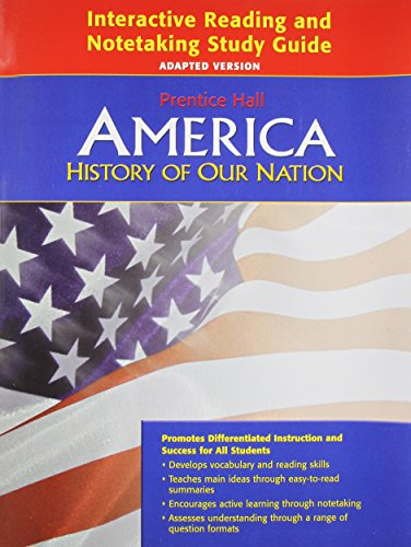 9780133652697: America: History of Our Nation- Interactive Reading and Notetaking Study Guide, Adapted Version