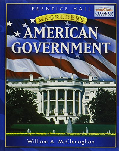 9780133653311: MAGRUDER'S AMERICAN GOVERNMENT 2008 STUDENT EDITION