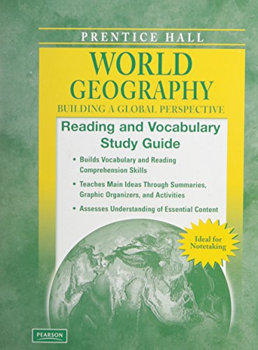 9780133653397: WORLD GEOGRAPHY C2009 READING & VOCABULARY STUDY GUIDE