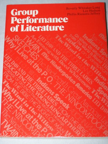 9780133653465: Group Performance of Literature