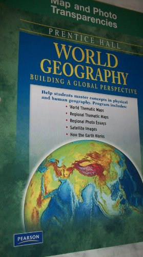 9780133653496: Prentice Hall World Geography Map and Photo Transparencies. (Paperback)