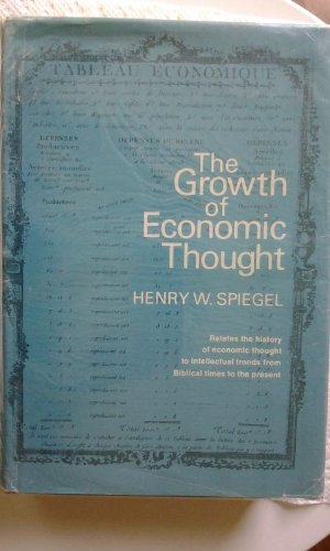 9780133653878: Growth of Economic Thought