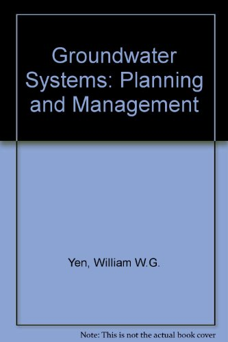 9780133656510: Groundwater Systems Planning and Management