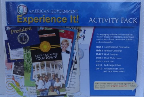 9780133656640: Pearson - Magruder's American Government 2010 - Experience It! Activity Pack (7 units)