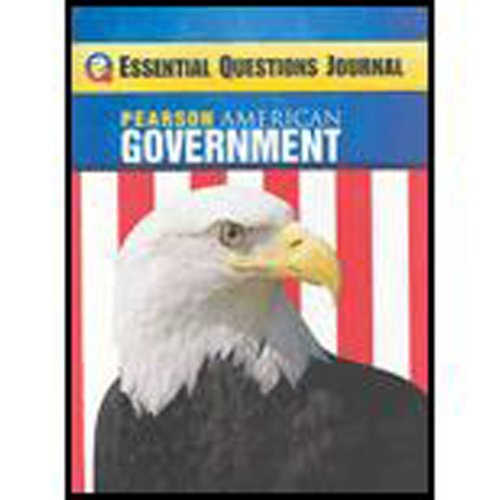 MAGRUDERS AMERICAN GOVERNMENT 2009 CONSUMABLE ESSENTIAL QUESTIONS