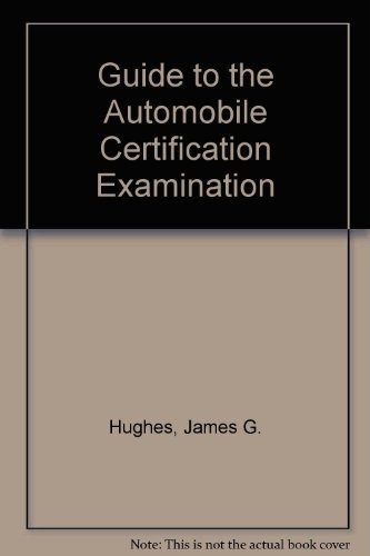 9780133656930: Guide to the Automobile Certification Examination