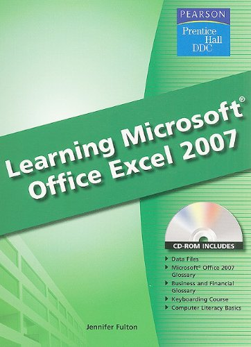9780133656961: Learning Microsoft Excel 2007