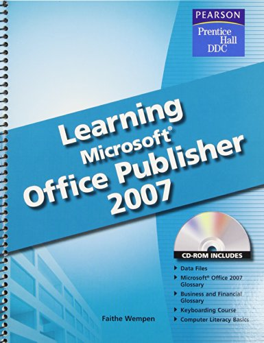 9780133657074: Learning Microsoft Office Publisher 2007