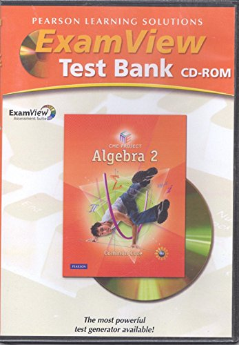 9780133659924: Exam View . Test Bank CD-ROM (Prentice Hall Mathematics Algebra 2)