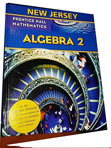 9780133660333: New Jersey Prentice Hall Mathematics Algebra 2