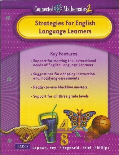 9780133661118: Pearson Connected Mathematics 2: Strategies for English Language Learners