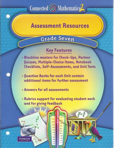 9780133661262: Assessment Resources Grade Seven (Connected Mathematics 2)