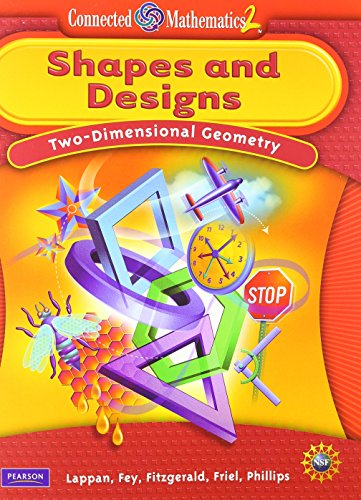 9780133661316: CONNECTED MATHEMATICS GRADE 6 STUDENT EDITION SHAPES & DESIGNS
