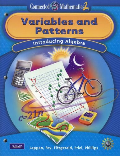 9780133661378: CONNECTED MATHEMATICS GRADE 7 STUDENT EDITION VARIABLES AND PATTERNS (Connected Mathematics 2)