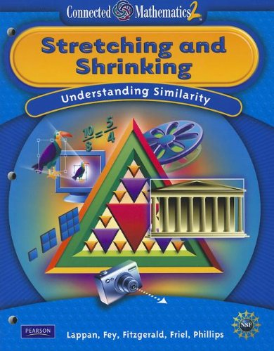 9780133661385: CONNECTED MATHEMATICS GRADE 7 STUDENT EDITIONG STRETCHING AND SHRINKING (Connected Mathematics 2)