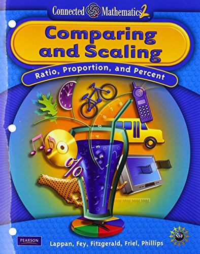 9780133661408: CONNECTED MATHEMATICS GRADE 7 STUDENT EDITION COMPARING AND SCALING (Connected Mathematics 2)