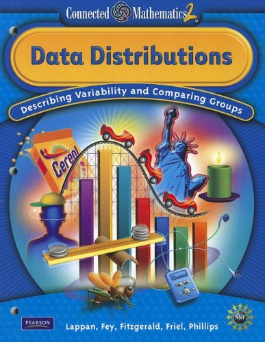 9780133661453: CONNECTED MATHEMATICS GRADE 7 STUDENT EDITION DATA DISTRIBUTIONS (Connected Mathematics 2)