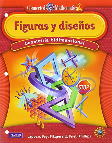 9780133661606: CONNECTED MATHEMATICS SPANISH GRADE 6 STUDENT EDITION SHAPES & DESIGNS