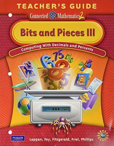 9780133661866: Bits and Pieces III: Computing with Decimals & Percents, Grade 6 Teacher's Guide (Connected Mathematics 2)