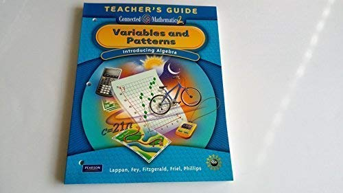 9780133661927: Variables and Patterns; Introducing Algebra Teacher's Guide (Connected Mathematics 2)