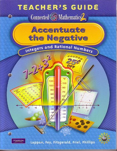 9780133661958: Accentuate the Negative; Integers and Rational Numbers Teacher's Guide (Connected Mathematics 2)