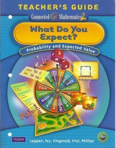 9780133661996: What Do You Expect? Probability and Expected Value Teacher's Guide (Connected Mathematics 2)