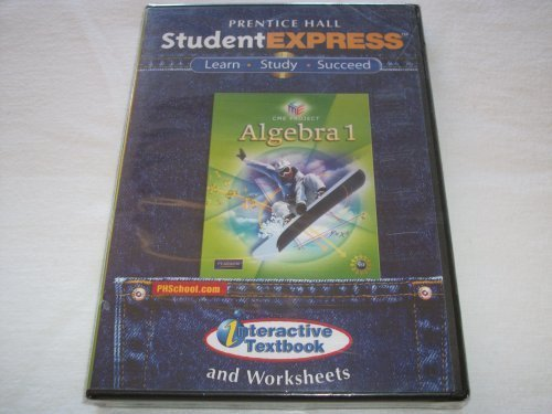 9780133662566: CENTER FOR MATHEMATICS EDUCATIONS ALGEBRA 1 STUDENT EXPRESS CD