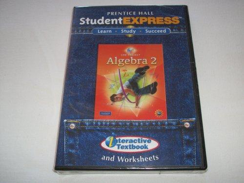 9780133662580: CENTER FOR MATHEMATICS EDUCATIONS ALGEBRA 2 STUDENT EXPRESS CD