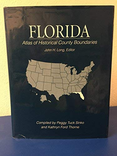 9780133663297: Atlas of Historical County Boundaries Florida