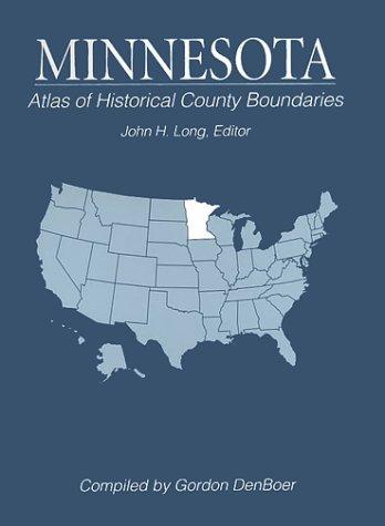 9780133664102: Atlas of Historical County Boundaries Minnesota