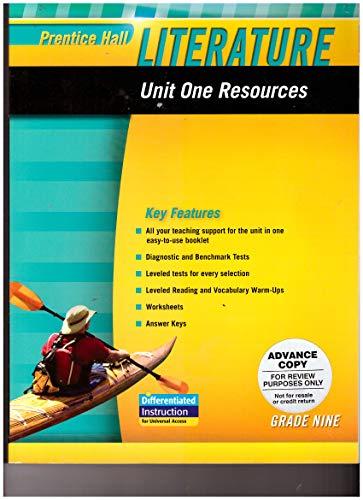 Prentice Hall Literature 2010 Unit 1 Resource: PRENTICE HALL