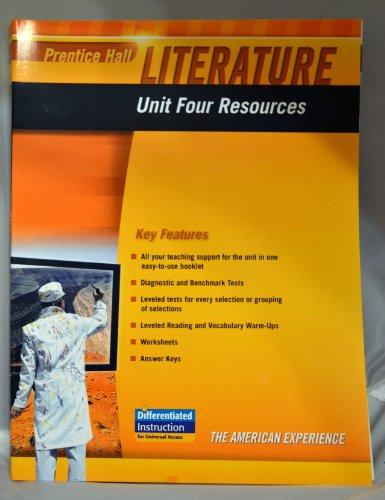 9780133664652: PRENTICE HALL LITERATURE 2010 UNIT 4 RESOURCE GRADE 11