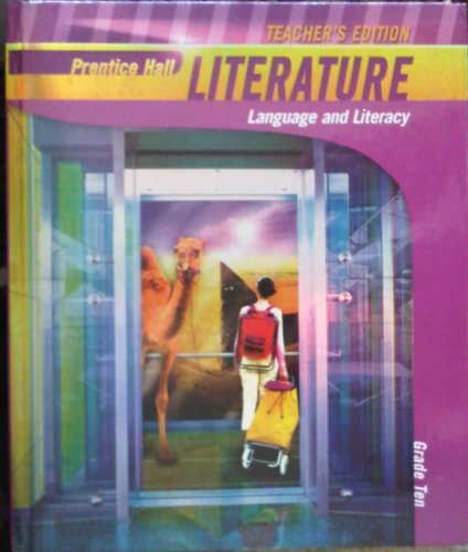 9780133666434: Teacher's Edition: Prentice Hall Literature: Language and Literacy (Grade Ten)