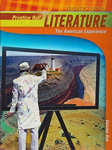 Prentice Hall Literature, The American Experience, Vol.: Hall, Pearson/Prentice