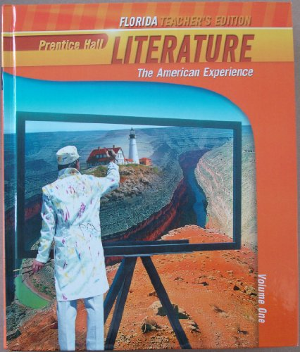 9780133666687: Literature, The American Experience, Volume One, Teacher's Edition