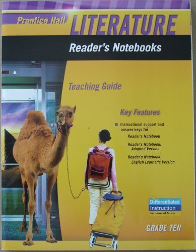 9780133666908: Prentice Hall Literature, Reader's Notebooks, Teaching Guide, Grade 10
