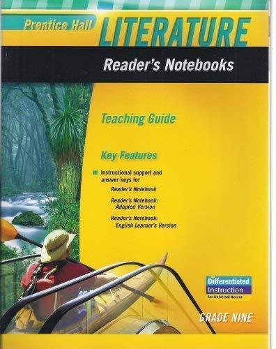 9780133666922: Literature Reader's Notebooks Teaching Guide Grade 9