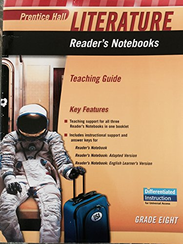 Prentice Hall Literature: Reader's Notebooks Teaching Guide