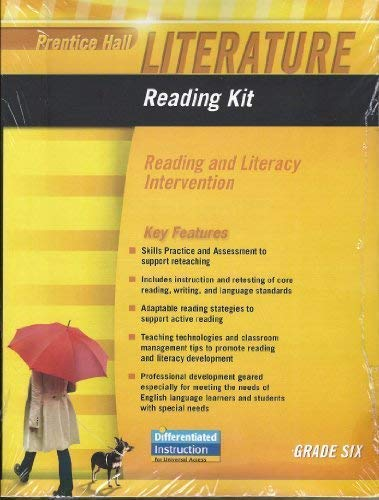 9780133667004: PRENTICE HALL LITERATURE 2010 READING KIT: READING AND LITERACY INTERVENTION GRADE 6