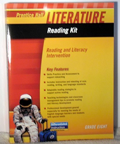 9780133667028: PRENTICE HALL LITERATURE 2010 READING KIT: READING AND LITERACY INTERVENTION GRADE 8