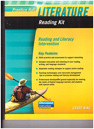 9780133667035: PRENTICE HALL LITERATURE 2010 READING KIT: READING AND LITERACY INTERVENTION GRADE 9