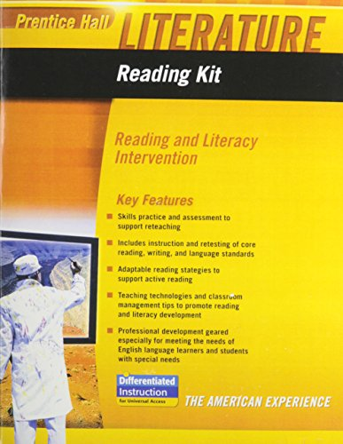 9780133667059: PRENTICE HALL LITERATURE 2010 READING KIT: READING AND LITERACY         INTERVENTION GRADE 11